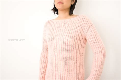 we are knitting we are knitters buttercream sweater knit kit review one
