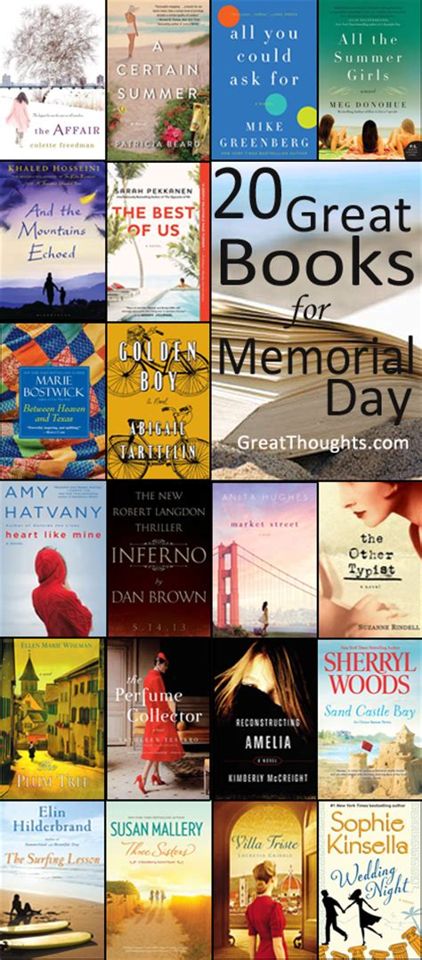 great to read the best new books to read on memorial day weekend