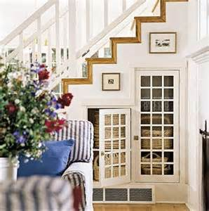 Under The Stairs Storage Closet Ideas by 20 Clever Basement Storage Ideas Hative