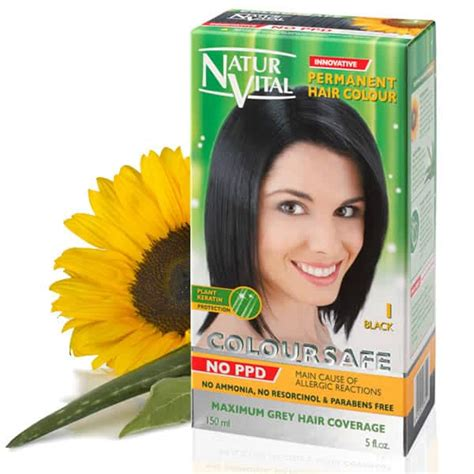 what is ppd in hair color ppd free hair dye naturvital coloursafe black no 1 no