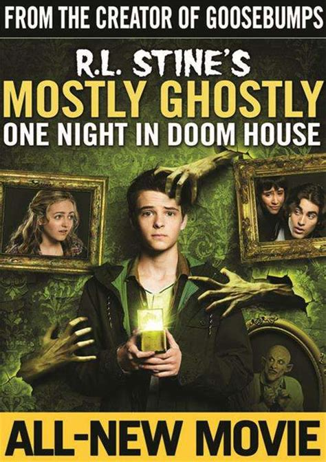 mostly ghostly one night in doom house r l stine s mostly ghostly one night in doom house dvd dvd empire