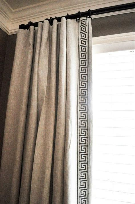 greek key curtains drapes love the greek key panel
