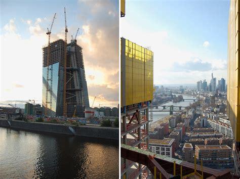 europäische bank frankfurt european central bank by coop himmelb l au nears completion