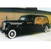 Cadillac Town Car Custom Carved Hearse Pictures