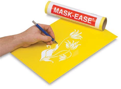 printable masking film scratch art mask ease blick art materials