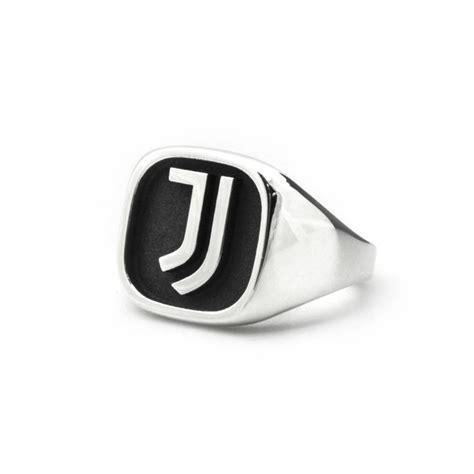 Juventus Home 925 new logo juventus silver ring juventus official store