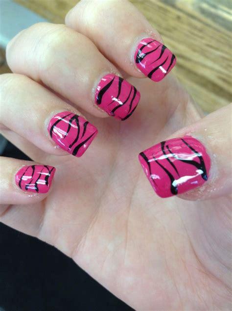 zebra pattern nail design 10 best shellac manicure nail art style samba