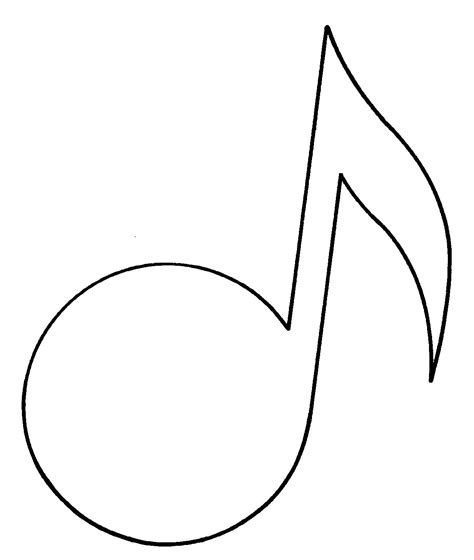musical notes template bridging the gaps in education use to enhance your
