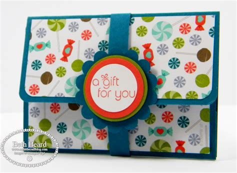 Ups Gift Card - my little craft blog pop up gift card holder video