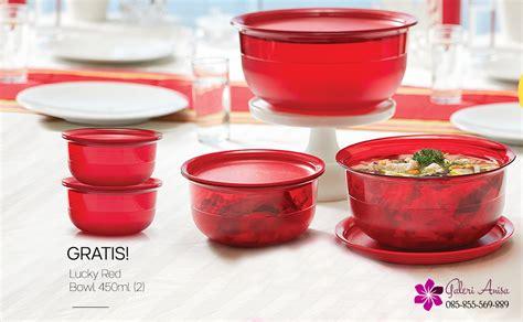 lucky bowl 3 tupperware promo tupperware terbaru