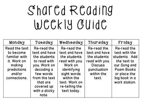 17 Best Shared Reading Images On Pinterest School Shared Reading And English Language Shared Reading Lesson Plan Template For Kindergarten
