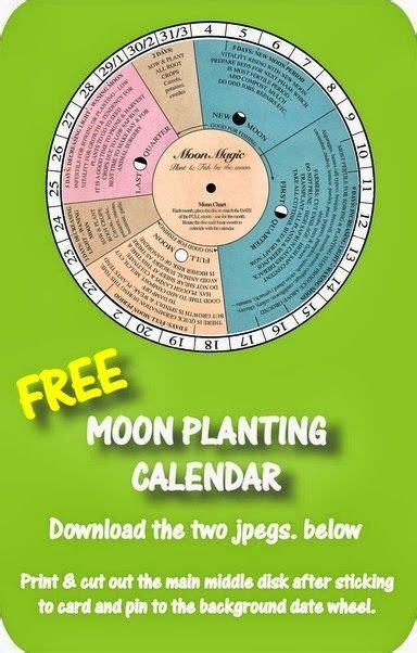 Eccc Calendar Gardening The Moon And Calendar On