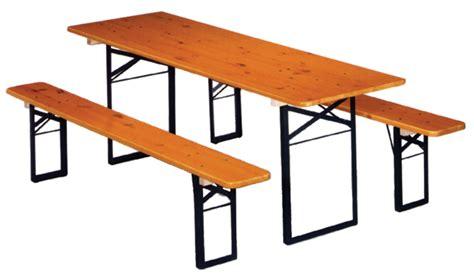 panche e tavoli pieghevoli tavolo e panche zingerlemetal