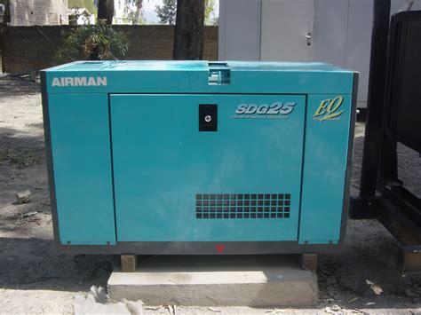 airman diesel generator sdg25s