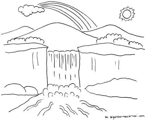 Poster Gambaran Princes free coloring pages of pemandangan alam