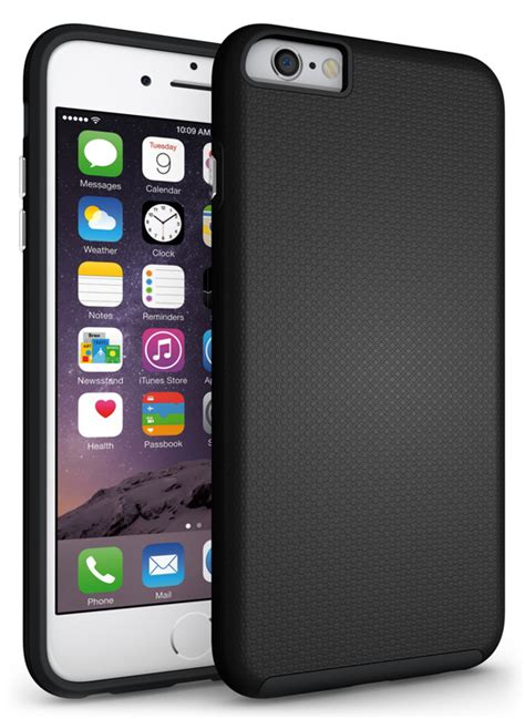Skin Iphone 6 6 Plus 6plus Black Texture 3m Original Japan New Textured Grip Soft Skin Cover For Apple