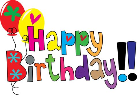 clipart for birthdays beautiful happy birthday clipart clipground
