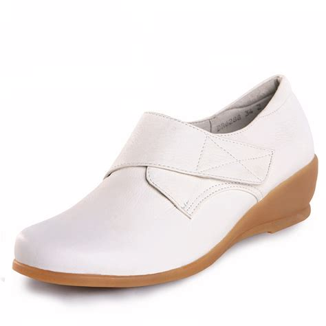 white nursing sneakers 2015 white leather nursing shoes footwear protective