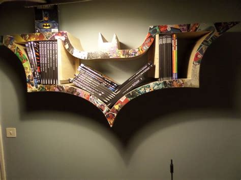 how to make a bat bookshelf