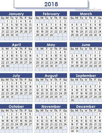 printable calendar 2018 calendarpedia 2018 calendar free excel templates