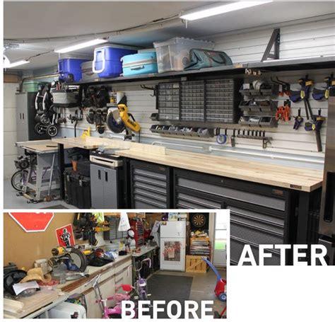 shot   garage workstation