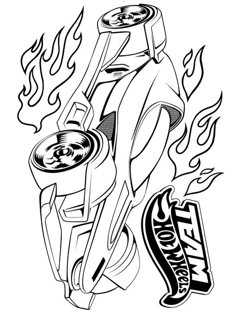 free printable coloring pages hot wheels hot wheels coloring page мади pinterest wheels hot