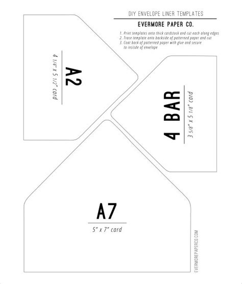 Diy Envelope Liners Template Paperie Pinterest Diy Envelope Liners Diy Envelope And Paper Source Envelope Template Pdf