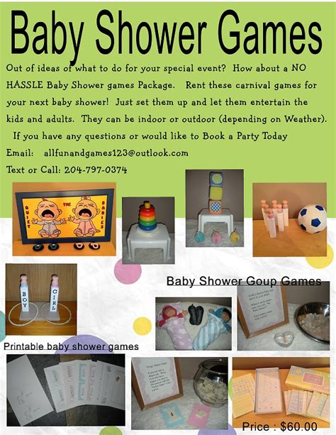 Baby Shower For And Adults packages all and