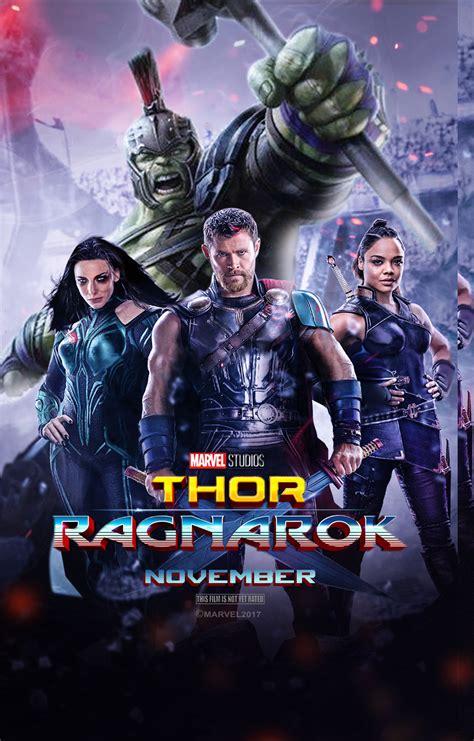 film online thor 2017 thor ragnarok 2017 poster v2 by edaba7 on deviantart
