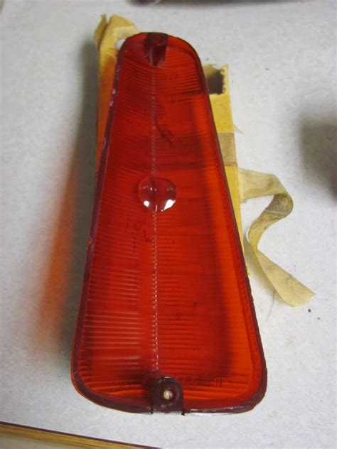 glo brite tail lights new 1960 60 plymouth rh tail light lens glo brite 636