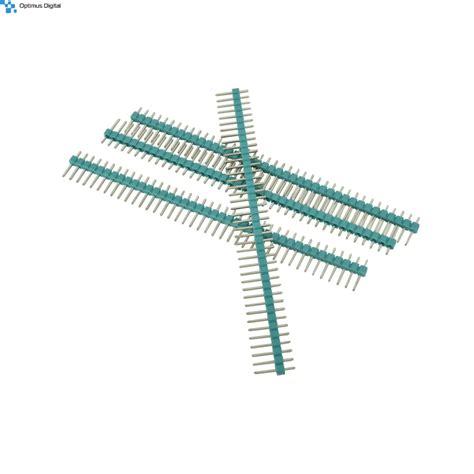 Pin Header 40p Mela 2 54 mm 40p green pin header