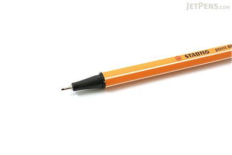 Stabilo Point 88 Ochre by Stabilo Point 88 Fineliner Marker Pen 0 4 Mm
