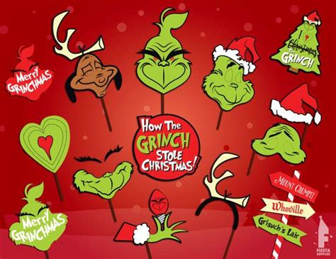 free printable grinch photo booth props 35585 best svg files images on pinterest christmas