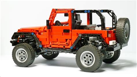 Jeep Wrangler Lego by Lego Technic Jeep Wrangler