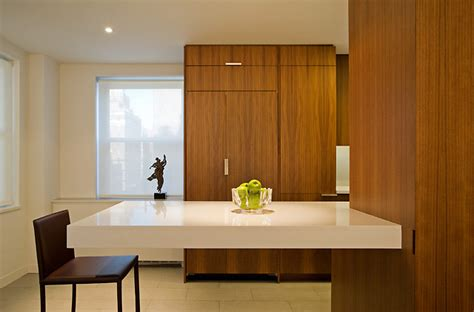 Floating Countertop by Kitchen With Floating Countertop Modern Kitchen New York By B Space Architecture
