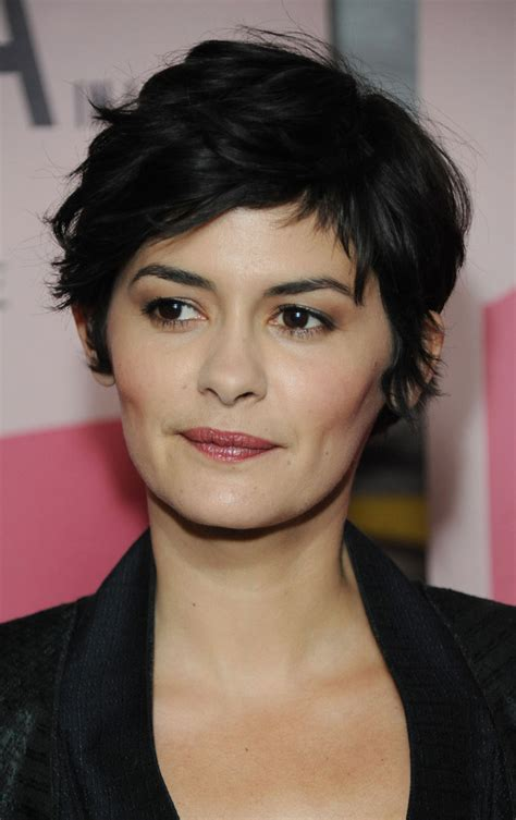 french actress with short hair more pics of audrey tautou pixie 1 of 13 short