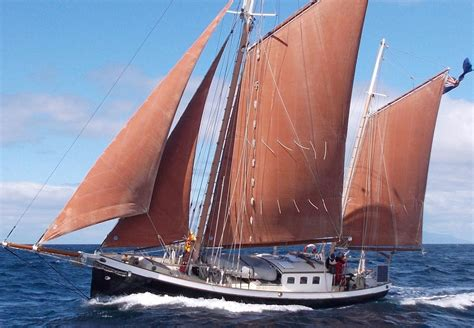ketch boat 1997 traditional steel gaff ketch sail boat for sale www