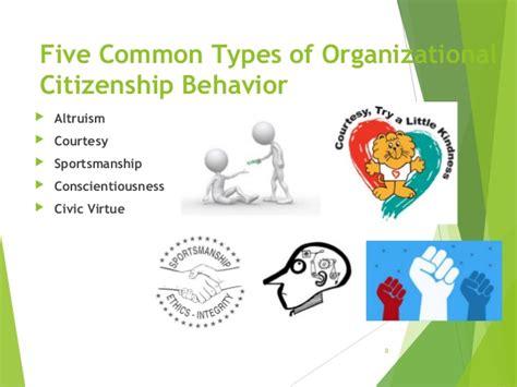 Organizational Citizenship Behavior Mba Ppt by Organizational Citizenship Behavior