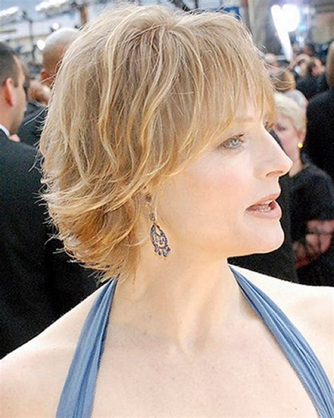 romantic hairstyles for forty year old women cute short haircuts with bangs for older women new
