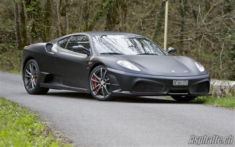 Schuderia Black road test 430 scuderia auto news asphalte ch