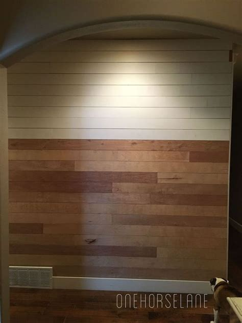 shiplap made from plywood diy shiplap wall easy cheap and beautiful part 1