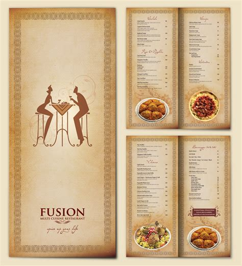 design menu card online menu cards by aravind lal at coroflot com