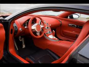 Interior Of A Bugatti Bugatti Veyron Interior World Of Cars