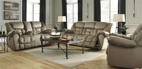 reclining living room set jodoca driftwood power reclining living room set from