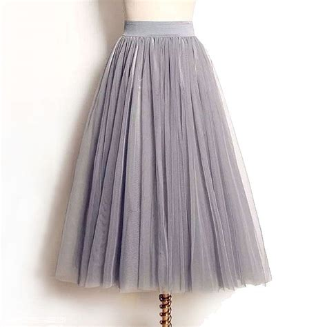 aliexpress buy 4 layers tulle skirts summer