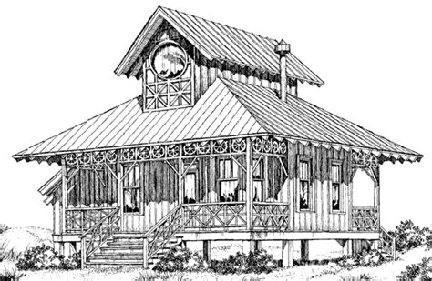southern living cabin house plans weekender cabin ron haase southern living house plans