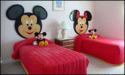 cheap bedroom decorating ideas mickey and minnie mouse