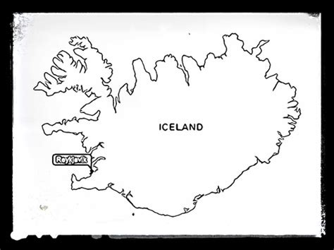iceland map coloring page geography maps for colouring by starteducation teaching