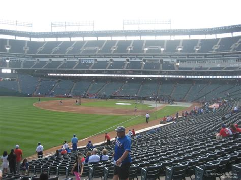section eleven globe life park section 11 rateyourseats com