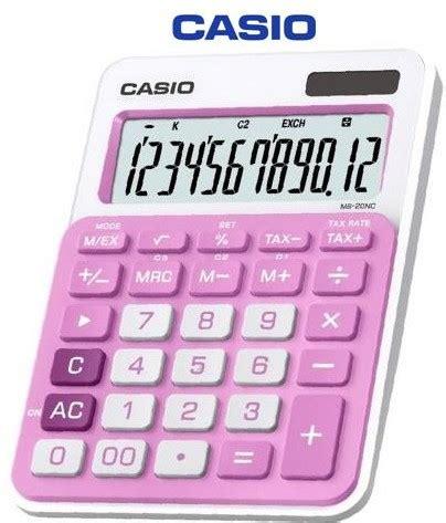 Casio Calculator Js 120tvs Sr casio calculators casio electronic calculator pink ms